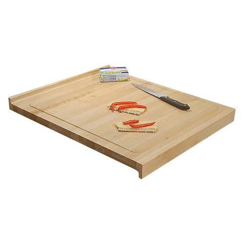 Stella Trading 32-001-27 Bloody - Tabla de cortar (madera de haya maciza, con ranura para líquidos, 58 x 2,8 x 48 cm)