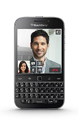BlackBerry Classic Schwarz Branding [QWERTZ, LTE, 3.5