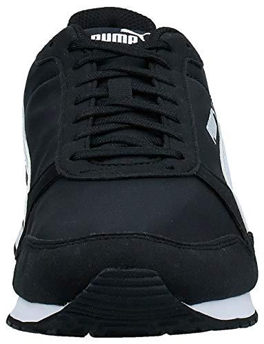 PUMA St Runner V2 NL', Zapatillas Unisex Adulto, Negro Black White, 40.5 EU