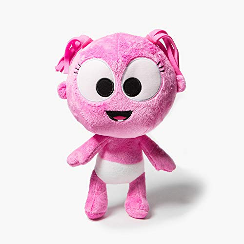 GaaGaa Interactive by babyfirst tv - Interactive Toy, Stuffed Animal Plush Toy, A for Baby's First Birthday or Baby Shower, Infant