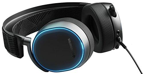 Steelseries Arctis Pro - Auriculares De Juego ,Controladores De Altavoces De Alta Resolución- Dts Headphone:X V2.0 Envolvente, Negro