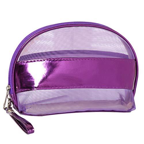 Sentaoa Voyage Trousses de Toilette Pochettes de Maquillage Portable Etanche Cas Cosmétique Sacs Organisateur (23 * 15 * 9cm,Violet)