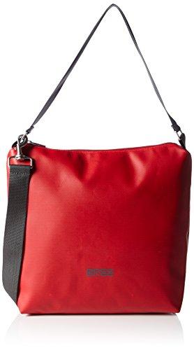 BREE Pnch 702, red, cross shoulder M 83152702 Unisex-Erwachsene Schultertaschen 30x12x32 cm (B x H x T), Rot (red 152)