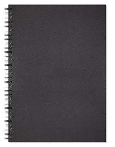 Artgecko Classy Gecko Cuaderno de bocetos, negro, A3 Portrait