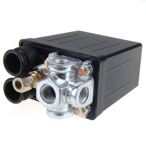D DOLITY 1x Valvola Di Controllo Del Pressostato Del Compressore D\'aria Da 240 V 175PSI 175 PSI (12 Bar) 16A