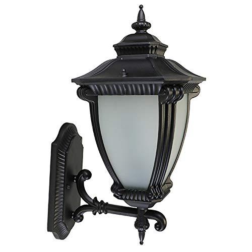 WANQINV Lámpara de pared para exteriores de estilo europeo, Lámpara de pared para jardín de villa, Estilo retro europeo, Jardín de pasillo, Linterna de pared de puerta impermeable, Iluminación decorat
