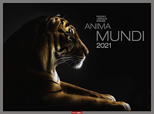 Anima Mundi - Kalender 2021 - Weingarten-Verlag - Wandkalender mit atemberaubenden Tierportraits - 77,8 cm x 57,8 cm