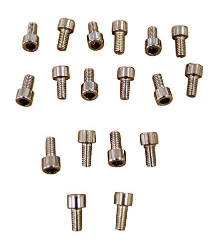 Dcenti DW29 Screw Kit for Inserts for 1 Wheel 18 Screws Total 18' 20' 22' 24' 26'
