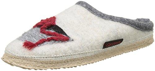 GIESSWEIN Unisex-Erwachsene Nempitz Pantoffeln, Weiß (Lamm), 41 EU
