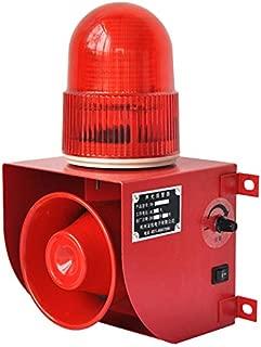 YS-1501 AC110V Industrial Power Off Reminder Alarm Sirens 120dB Horn Alarm System with Strobe Light