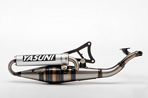 Yasuni - Marmitta in alluminio per motore Minarelli orizzontale, Scooter Z