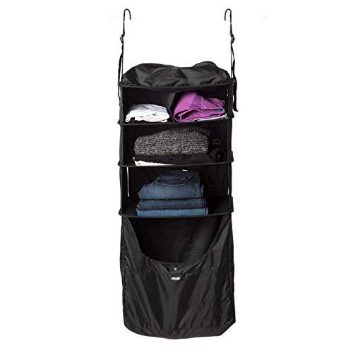 RISE Portable Shelving Luggage Insert, Gear (Black)