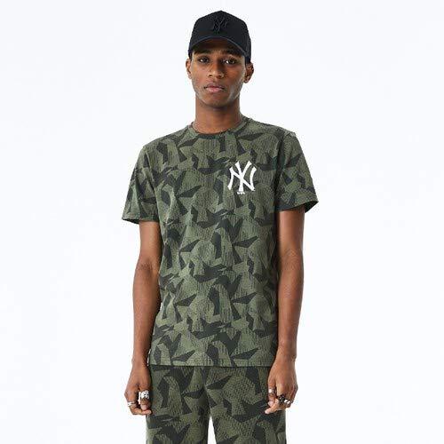 New Era Camiseta línea York Yankees Modelo Geometric Camo tee NEYYAN Marca