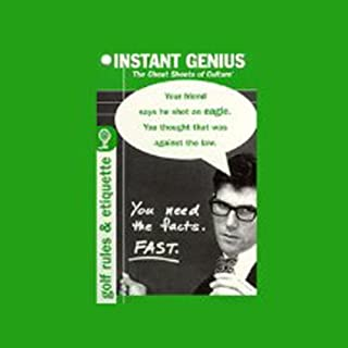 Instant Genius, The Cheat Sheets of Culture audiobook cover art