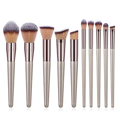Pinceaux de Maquillage 12 Pcs Fard À Paupières Maquillage Brosse Set Eyeliner Sourcils Cils Anti-cernes Surligneur Oeil Professionnel