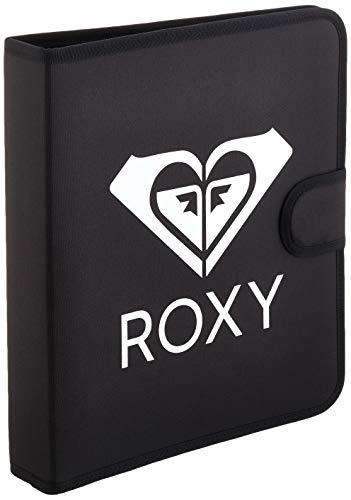 Roxy What A Day Solid, Cuatro Anillos de sujeción. para Mujer, Antracita, Medium