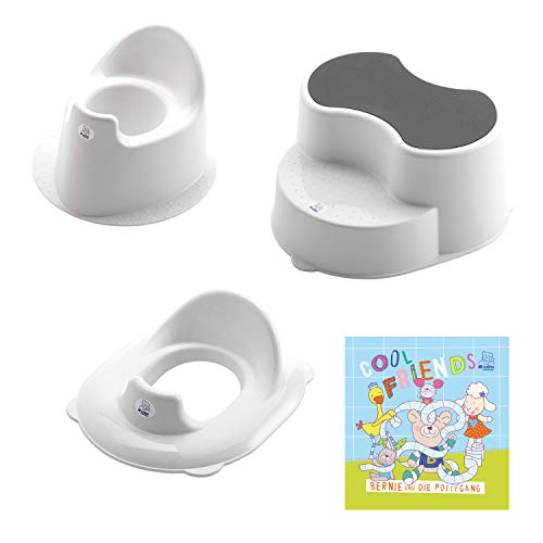 Rotho Babydesign TOP Kit d'Apprentissage Petit Pot, 18 mois-6 Ans, TOP, Blanc, 21050000101