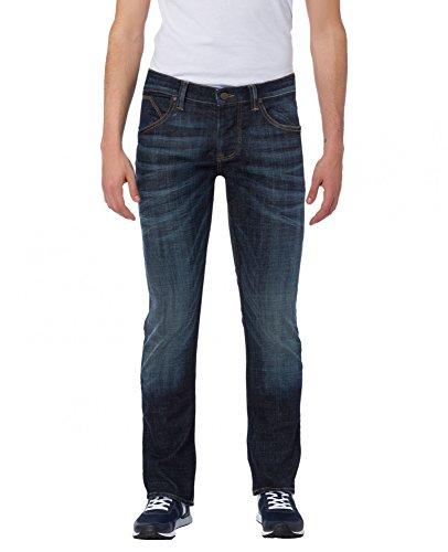 Cross Herren Dylan Tapered Fit Jeans, Blau (Deep Blue 070), W38/L34
