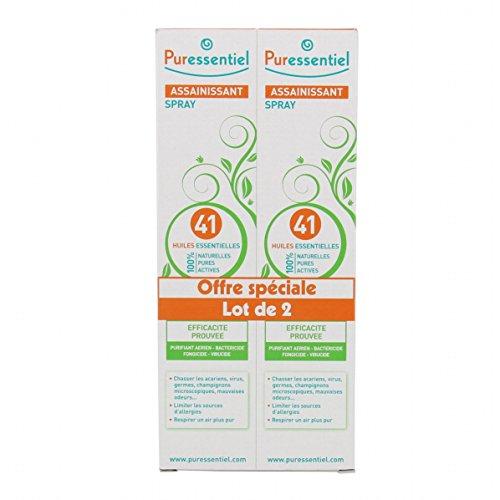 Desinfectante Spray en 41 aceites esenciales 200ml Pack de 2 Puressentiel