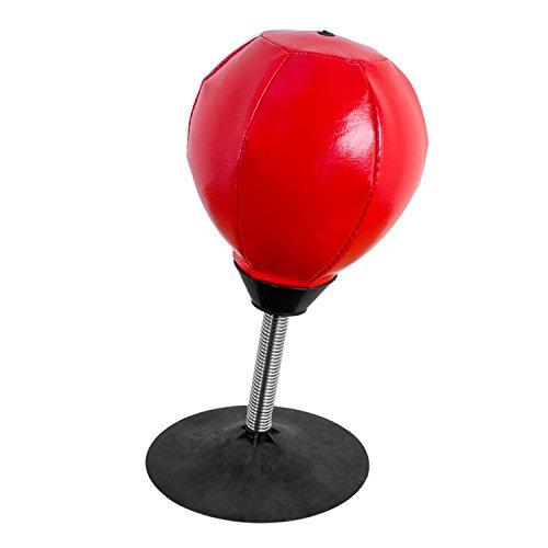 Global Gizmos 50440 Mini-Boxball für den Schreibtisch, Spielzeug zum Stressabbau, mit Pumpe