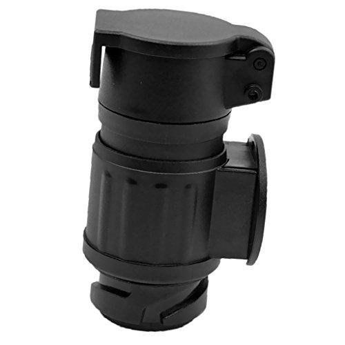 MagiDeal Rallonge Spirale Remorque 13à7Broche Trailer Light Voiture Adaptateur 12V