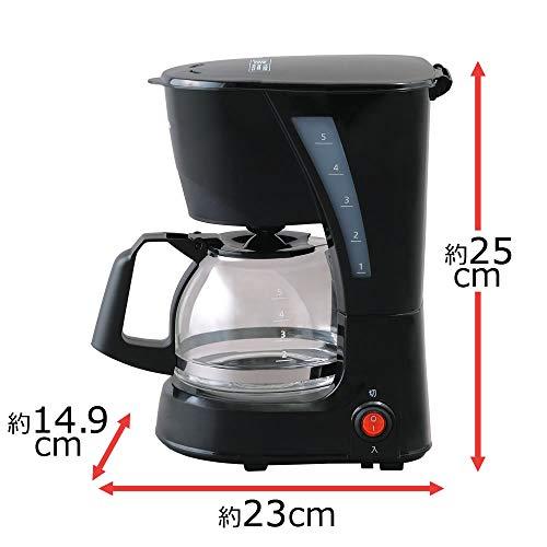 アイリスオーヤマ『コーヒーメーカーブラック(CMK-652-B)』