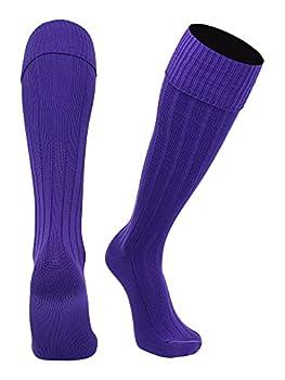 TCK European Style Soccer Socks  Purple Medium