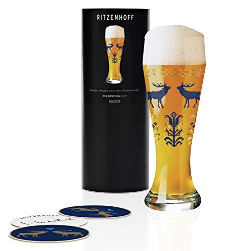 RITZENHOFF 1020239 Weizen Weizenbierglas, Glas, 645 milliliters