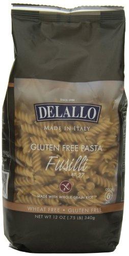 DeLallo Gluten Free Pasta, Fusilli, 12 Ounce