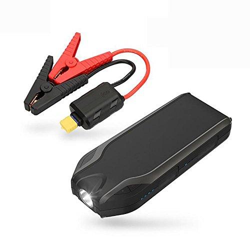 MIAO Auto Starthilfe - Multifunktions 12V Auto Notstart Stromversorgung, 22500mAh (83.25Wh) Notfall LED Taschenlampe Backup Mobile Power / Power Bank (Kaufen Sie ein Auto-Ladegerät zu senden)