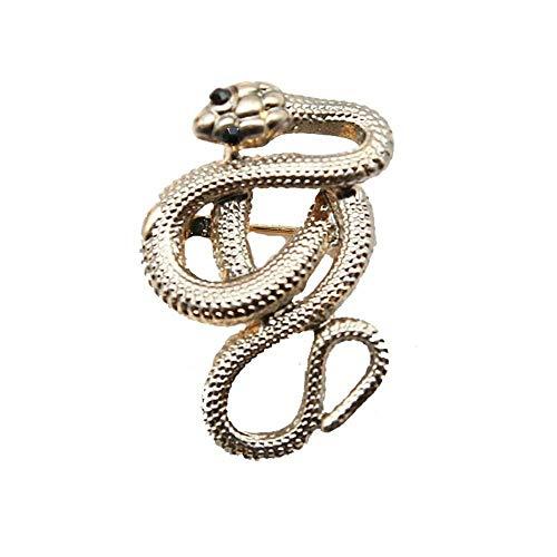 Tcaijing Broches Broche Olie schilderij glazuur ingelegd diamant cobra broche dame sjaal pin legering broche