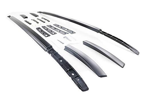 Baca Coche Universal Aleación de aluminio techo de techo de techo de uso para Mitsubishi Outlander 2013-2021 Rails Barras barras de portador de equipaje Top Cross Bar Rack Rail Cajas de riel Barras Te