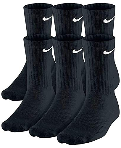 NIKE Plus Cushion Socks (6-Pair) (L (Men