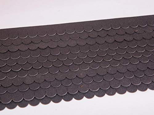 Manufaktur Martinshof Set Dachschindeln Biberschwanz Mini (15 mm)
