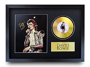 Un regalo che amerà: fai un colpo di musica con questa foto stampata firmata di David Bowie. Un regalo di topping grafico per loro e multi platino che dà punti a voi! Non troverete un prodotto migliore per il prezzo: proprio come il vero ma senza il ...