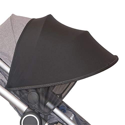 Spielen - Parasol universal para cochecito, parasol para cochecito, protección UV, plegable, toldo para cochecito de coche, buggy y