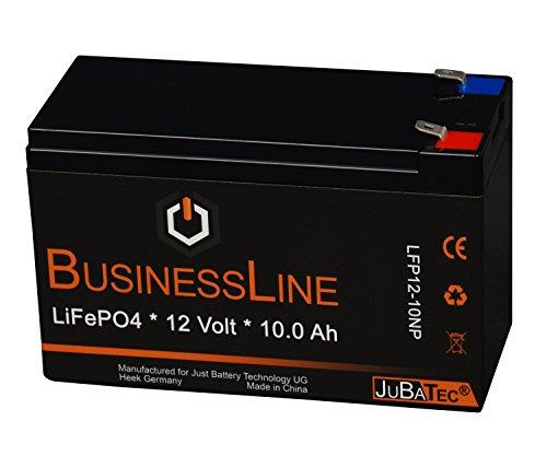 LiFePO4 Akku 12 V 10.0 Ah mit BMS (Batterie Management System)