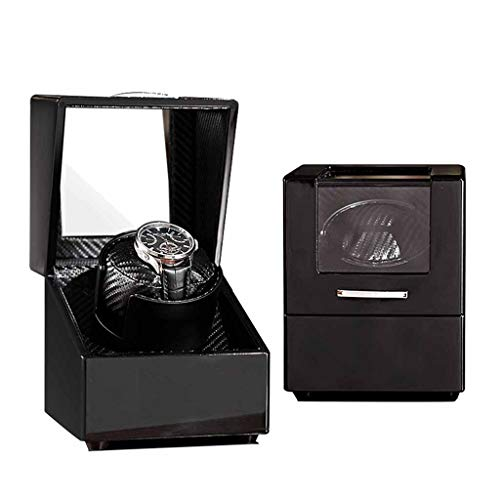 Watch Boxes Winder for Automatic Watches Wood Rotation Best Watch Winder Extremely Silent Motor,Suitable for Ladies and Men's Wrist Roscloud@