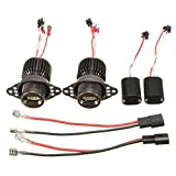 Ampoules Angel Eyes LED blanches 20 W 1200 lm pour BMW E90 E91 2009-2011