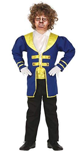 Guirca Prinz Kostüm für Jungen - Größe 98-146 - Kinder Fasching Karneval, Größe:140/146