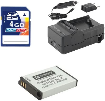 Samsung WB1100F Our shop OFFers the best service Digital Camera Safety and trust Kit SDSLB10A Accessory Includes: