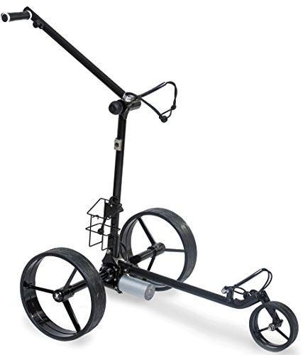 Trolley da golf elettrico Figus DHC (nero)