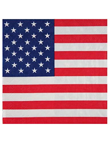 Themen- / Mottoparty USA Amerika Servietten