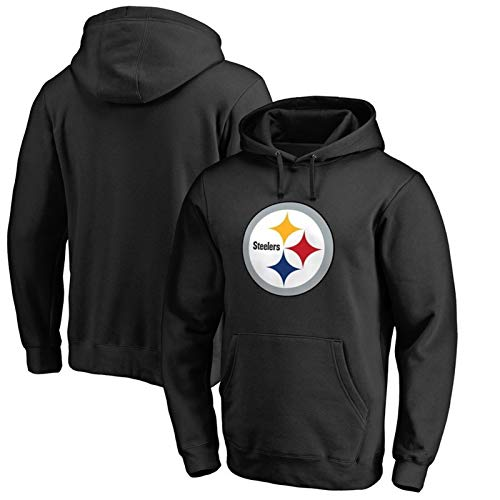 XYY NFL Pittsburgh Steelers Hoodie Männer Rugby lose beiläufige Knit Hoodie, Laufen, Fitness Männer Kapuzenpullover for Rugby-Spiele (Color : B1, Size : S)
