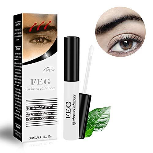 1bottle Augenbrauen Wachstum Serum Augenbraue Rasantes Wachstum Liquid Eye Brow Enhancing Serum Für stärker wachsen Fuller Dickere Gesünder Shapely Eyebrows (3 ml / 0 1 Unzen)