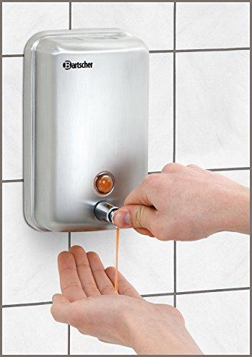 Bartscher - Dispensador de jabón montado de Pared