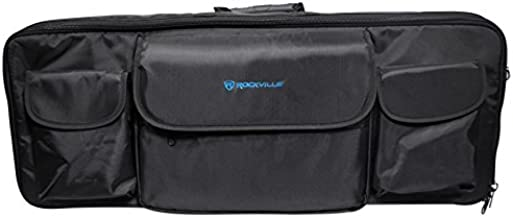 Rockville Travel Case Soft Carry Bag For 49 Key Music Controllers Keyboards