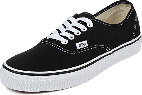 Vans U Authentic, Unisex-Sneaker, Schwarz - Black True White - Größe: 38.5 EU