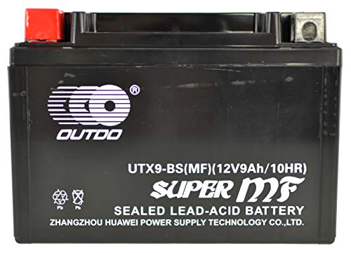 Bateria Moto UTX9A-(Ytx9-bs)