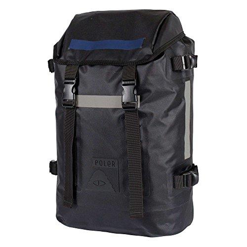 POLER Bag HIGH & Dry Rucksack, 48 cm, 31 L, Black